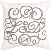 Jonathan Adler Beaded Linen Pillow