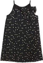 Epic Threads Heart-Print Chiffon Dress, Little Girls, Created for Macy's