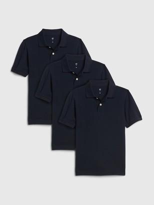 Gap Kids Polo Shirt Shirt (3-Pack)