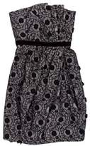 Marc by Marc Jacobs Embroidered Strapless Dress w/ Tags