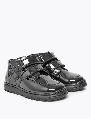 Marks and Spencer Kids Light As Air Patent Leather Ankle Boots (5 Small - 12 Small)