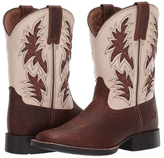Ariat Cowboy VentTEKtm (Toddler/Little Kid/Big Kid) (Cognac Candy/Cantle Cream) Kid's Shoes