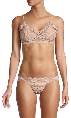 Pilyq Sweetheart Lace Bikini Top