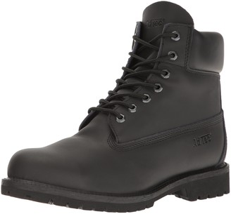 "AdTec Ad Tec Men's 9688 6"" Steel Toe Work Boot Black (Black Numeric_10_Point_5)"