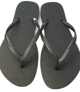 Havaianas - Women's Slim Basic Black Flip Flop