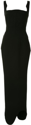Rachel Gilbert Astor bustier gown