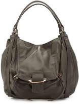 Kooba Women's Jonnie Leather Shoulder Bag -Grey