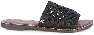 Sam Edelman Genovia Braided Leather Slides