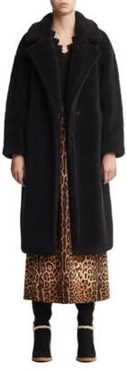 Scoop Women's Faux Fur Teddy Coat