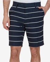 "Nautica Men's 9-1/2"" Slim-Fit Striped Cotton Shorts"