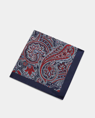 Ted Baker HILLWAY Paisley print pocket square