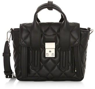 3.1 Phillip Lim Mini Pashli Quilted Leather Satchel