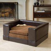 Christopher Knight Home Doggerville Large Rectangular Cushy Dog Sofa