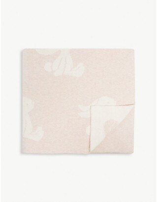 Jellycat Bashful Bunny cotton blanket