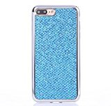 For iPhone 7 Plus Case, HP95(TM) Shockproof Soft TPU Silicone Bling Back Case Cover For iPhone 7 Plus 5.5 Inch (Blue)
