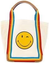 Anya Hindmarch Smiley rainbow tote