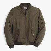 J.Crew Wallace & Barnes MA-1 bomber jacket