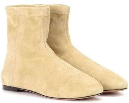 Isabel Marant Detchel suede ankle boots
