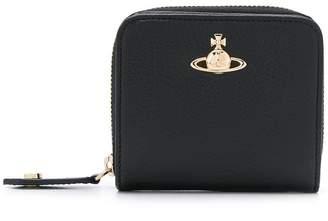 Vivienne Westwood logo plaque zip around wallet
