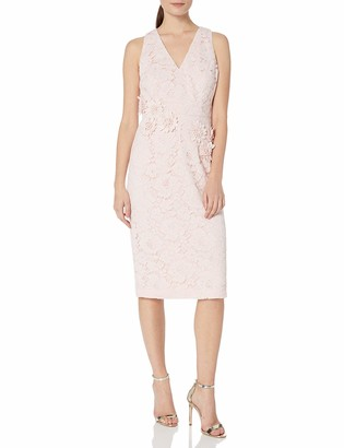 Maggy London Women's Rose Garden Lace Cocktail Sheath 14