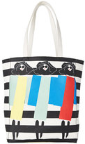 Alice + Olivia Multi Triple Threat Canvas Bag