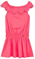 GUESS Pink Off The Shoulder Dress