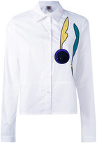 I'M Isola Marras embroidered patch shirt - women - Cotton/Polyester - 40