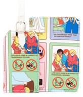 Flight 001 Safety Passport Holder & Luggage Tag Set
