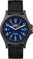 Timex Expedition Men's TW4999900 Quartz Watch with Blue Dial Analogue Display and Black Nylon Strap