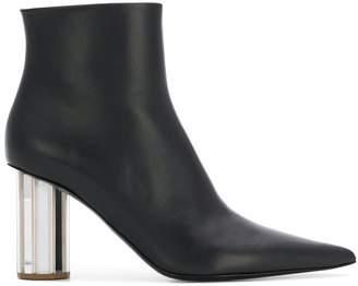 Proenza Schouler metallic heel boots
