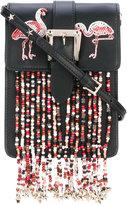 RED Valentino beaded details crossbody bag
