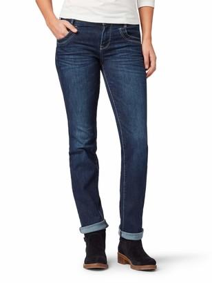 Tom Tailor NOS) Women's Streight Leg Jeans Mit Weitem Bein Alexa Gewaschen Slim