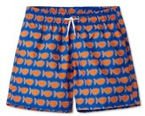 Stella Cove Toddler Boy's Whale Print Swim Trunks