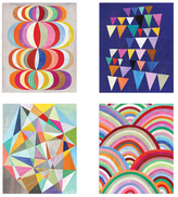 Abstract Fun Wall Arts (Print) (Set of 4)