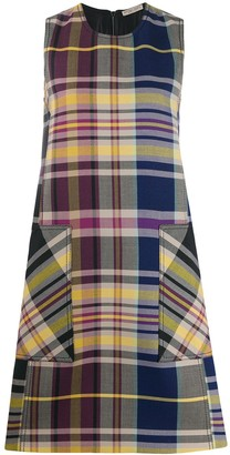 Bottega Veneta Plaid Dress