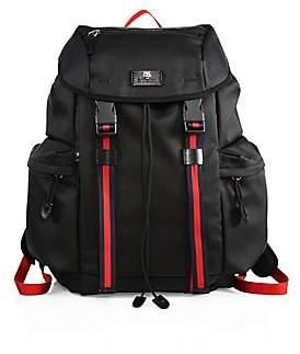 Gucci Men's Medium Canvas Backpack
