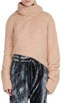 Ann Demeulemeester Alpaca Mohair Asymmetric Sweater