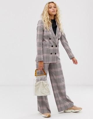 InWear Adalia check wid eleg tailored pants