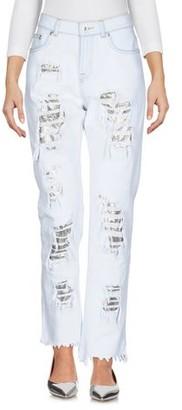 Versus By Versace Denim trousers