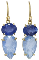 Irene Neuwirth Aquamarine Drop Earrings - Yellow Gold