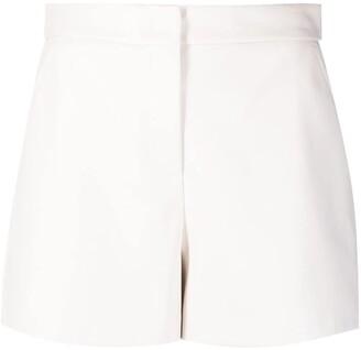 Blanca Vita Sandra faux-leather shorts