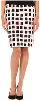 Kate Spade Abstract Sweets Pencil Skirt