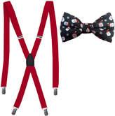 Asstd National Brand Hallmark 2-pc. Santa Bowtie and Suspender Set