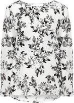 Junarose Plus Size Floral printed top