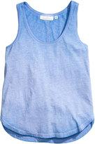 H&M Jersey Tank Top - Light blue - Ladies