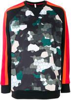 NO KA 'OI No Ka' Oi mosaic camouflage sweatshirt