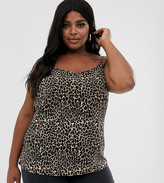 Junarose leopard print cami top