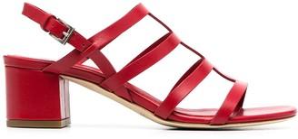 Del Carlo Block-Heel Sandals