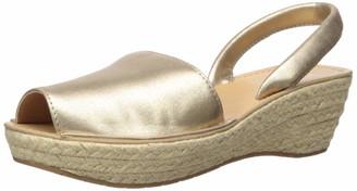 Kenneth Cole Reaction Women's Fine Glass Espadrille Platform Slingback Sandal Wedge