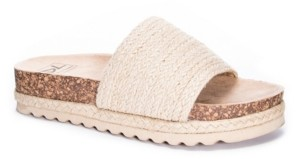Chinese Laundry Diamonds Jute Women's Footbed Sandal Women's Shoes
